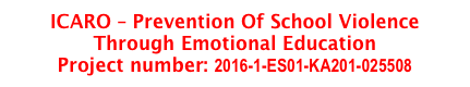 ICARO – Prevention Of School Violence Through Emotional Education